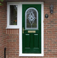 composite door and side light