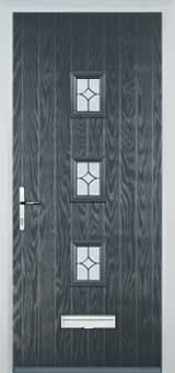 3 Square Composite Doors