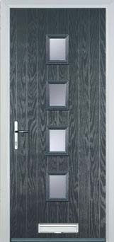 4 Square Composite Doors