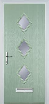 innovative design 09927 b3f0c Diamond 3 Glazed Composite Front Doors