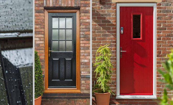 Composite doors front doors back doors diy for Back door styles