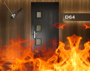 internal fd30 fire door