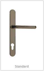 gold lever handles