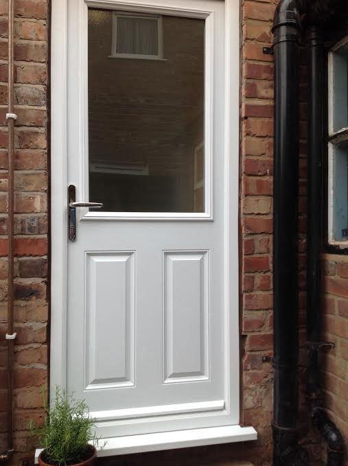 Grp composite doors uk reviews for White back door
