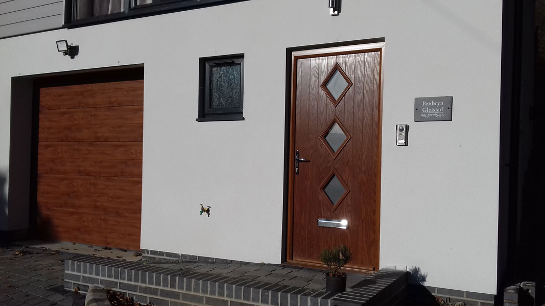 Door Style Purchased Diamond 3 Composite Front In Oak