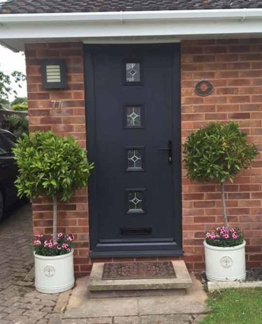 Manse Composite Doors Lovely Composite Door Black Composite Door Neil Amos Windows