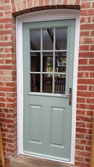 chartwell green cottage back door