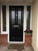 composite door with 2 side panels
