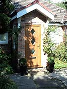 oak cottage composite door