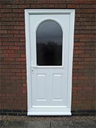 half glazed back door
