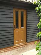 back door in oak
