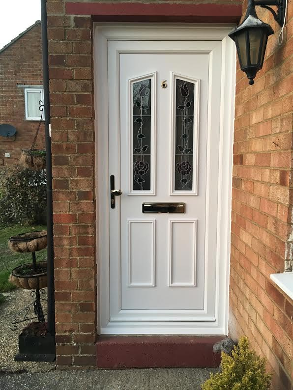 glazed upvc front door