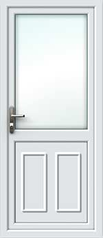 Clinton Half Glazed UPVC Door