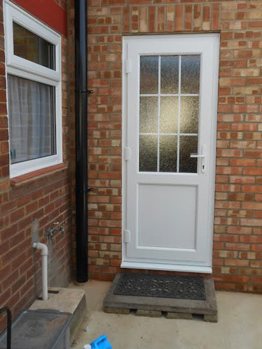 georgian style upvc back door